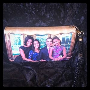 The OBAMA family wallet